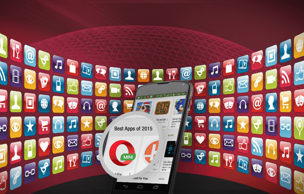 Opera Mini Google Play Best apps of 2015