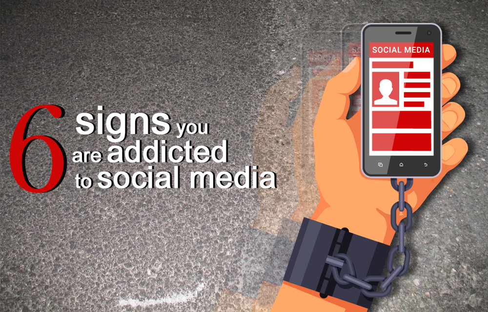 Thumbnail for '6 signs you are addicted to social media'