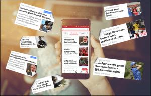 Thumbnail for 'Tamil news feed debuts on Opera Mini'
