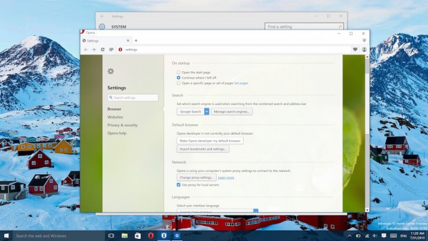cara setting browser default di windows 10 - Opera Indonesia