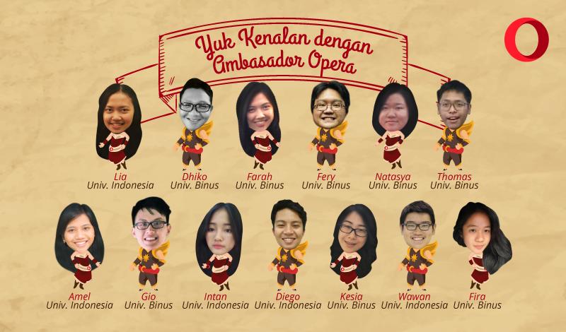 ambassador opera indonesia