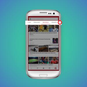 Thumbnail for 'Cara memilih konten berita di Opera Mini'