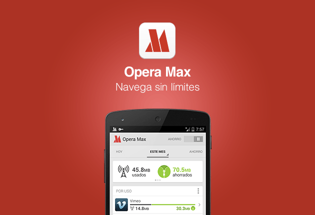 Latin America: You can save now save data on your Android phone with Opera Max