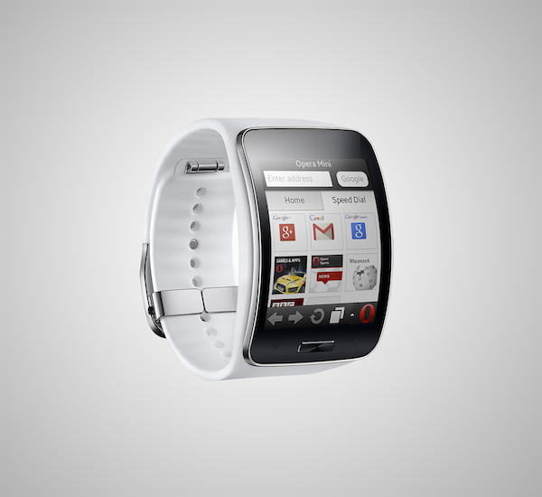Opera Mini is the first browser on Samsung Gear S smartwatch