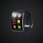 Samsung Gear S with Opera Mini browser