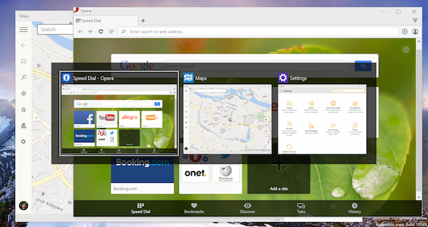 Windows 10 preview: Touch-optimized apps as regular windows