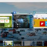 Windows 10 preview: Multiple desktops in desktop mode, tablet mode is also available