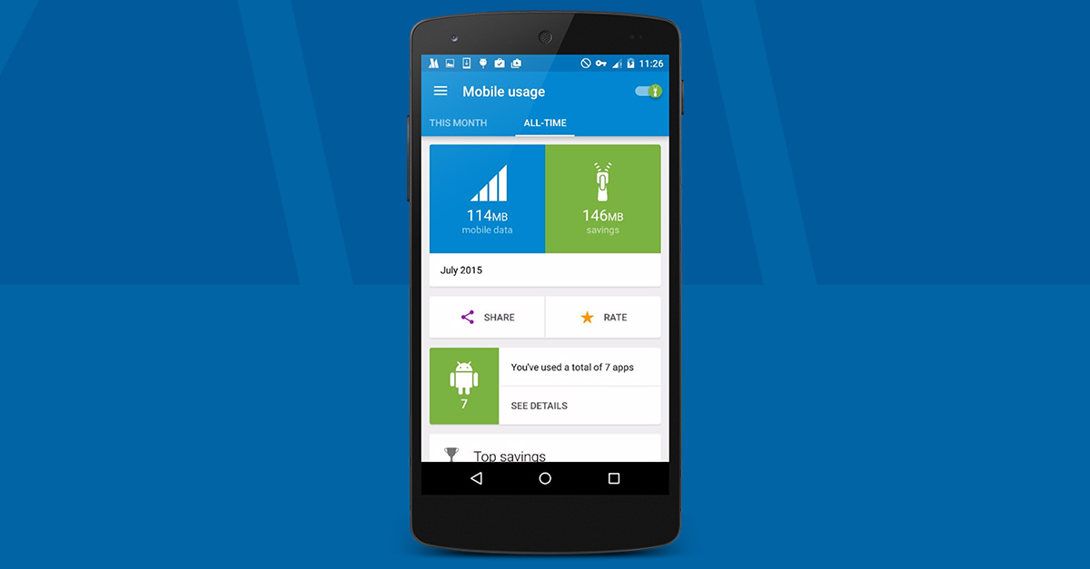 opera max app management update android