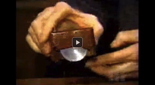 Watch the first computer mouse made of wood