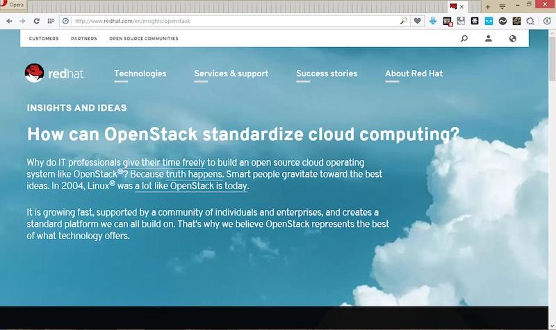 100+ tabs open in Opera browser