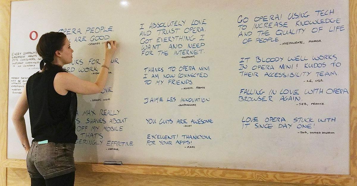 Ruth social media ninja community engagement white board feedback