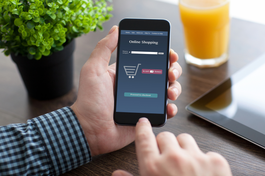 Mobile payments and shopping are increasingly popular for the average mobile user.