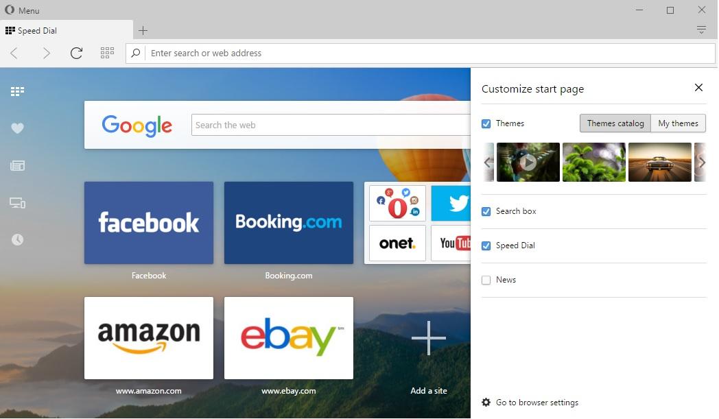 Chrome alternative: Opera for computers