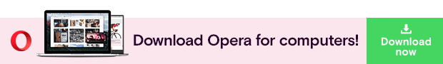 Link to Download Opera for computers