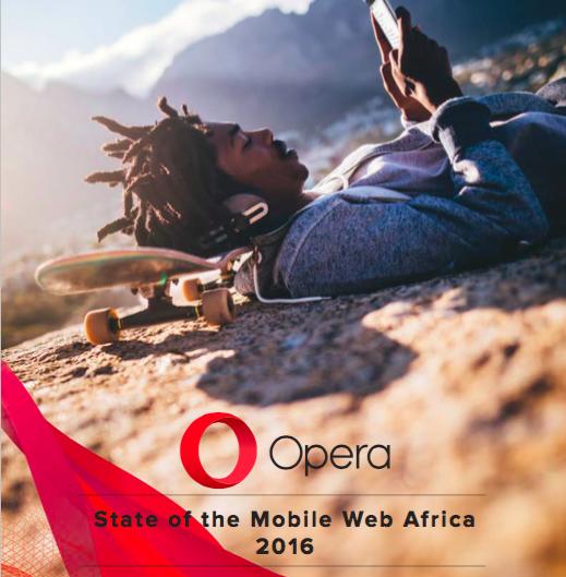 SMWAfrica Opera 2016 State of mobile web Report