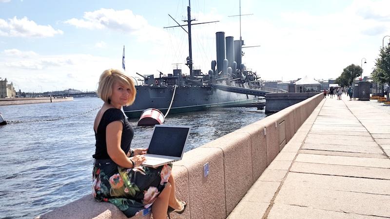 Александра Лартей - глобальный маркетинг-менеджер Opera для компьютера