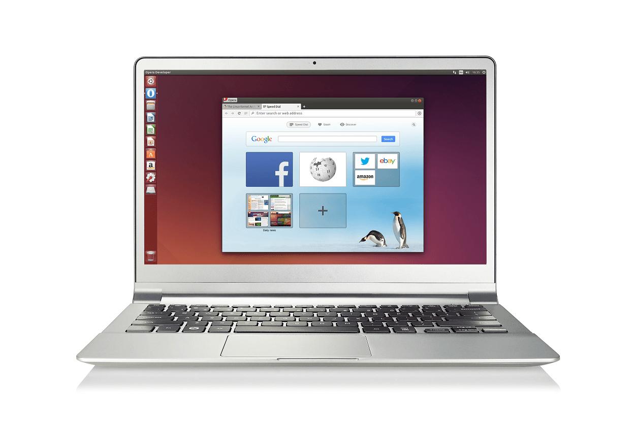 Opera on Linux