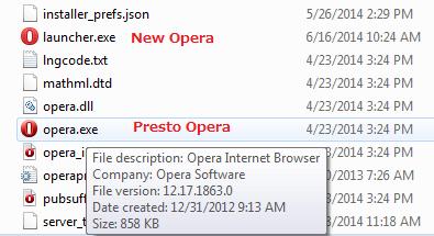 Opera ディレクトリ