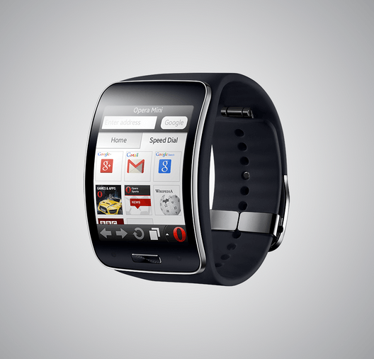 Opera Mini on Gear S