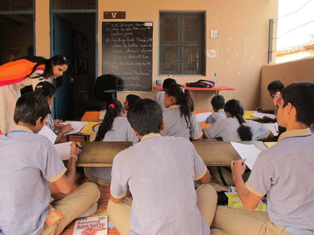 グルガーオンの学校