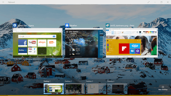 Windows 10 Preview Opera 1