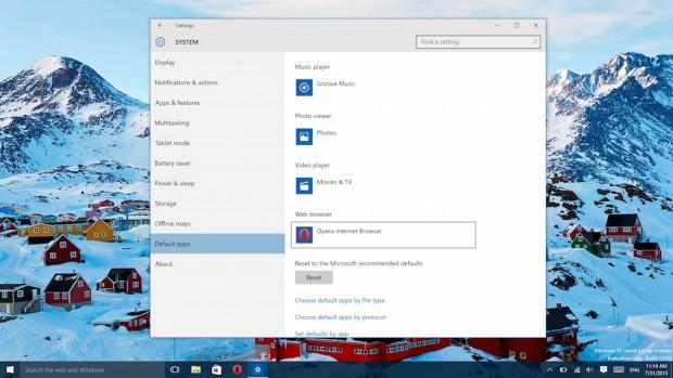 Windows 10 でデフォルトブラウザを変更する方法