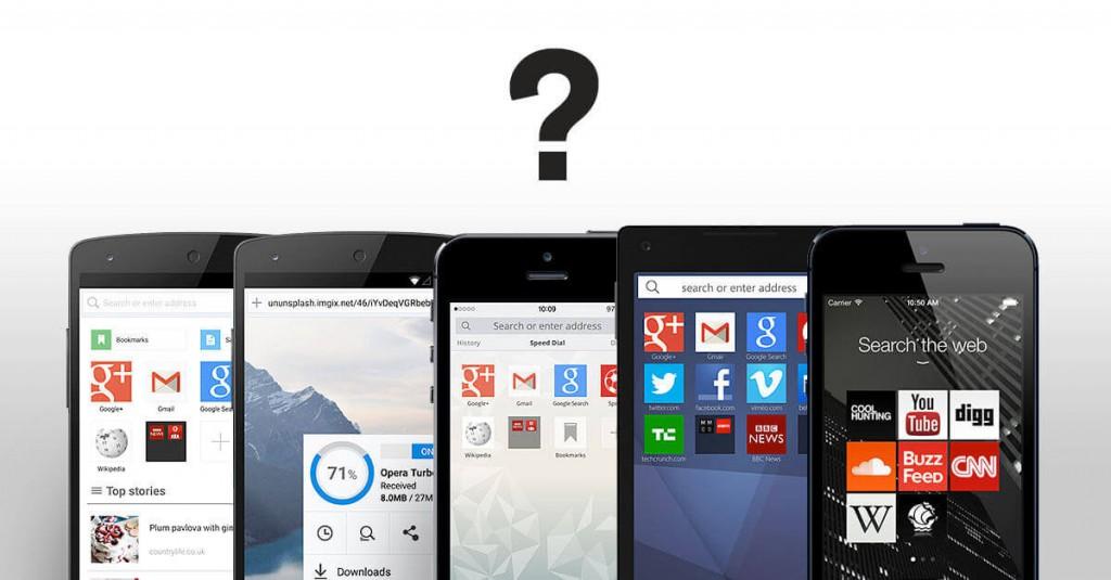 どのモバイルブラウザがあなたに向いているか