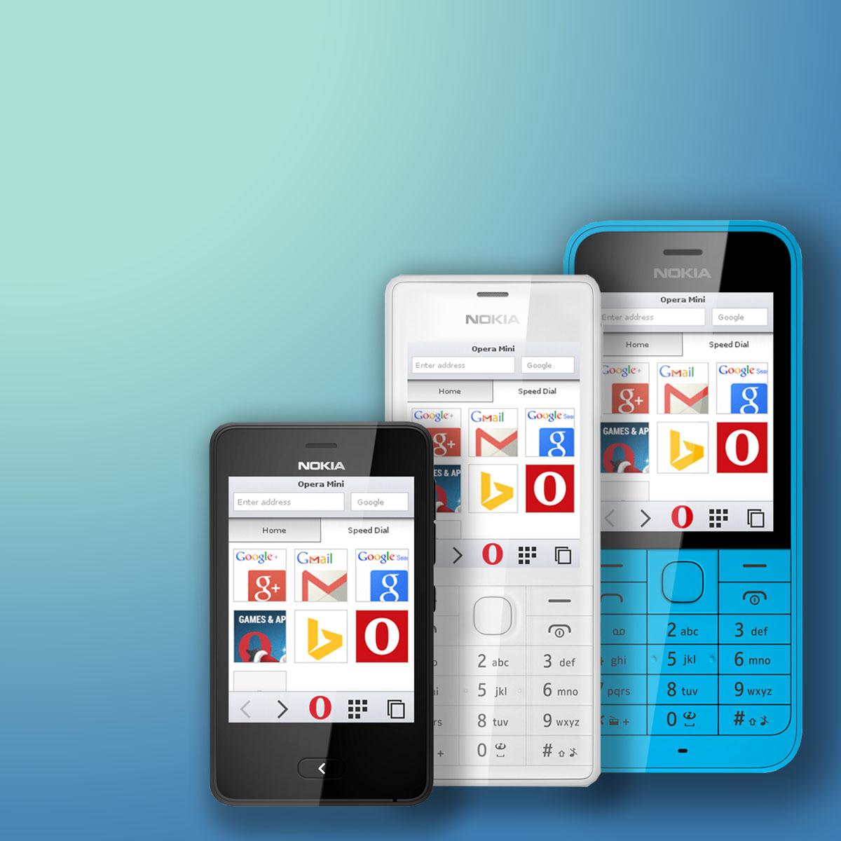 Opera Mini заменяет браузер Xpress на Nokia