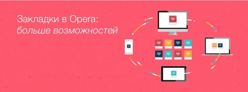 Синхронизация закладок в браузерах Opera для компьютера и мобильных