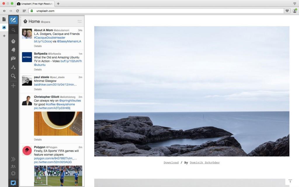 Tweetdeck Sidebar