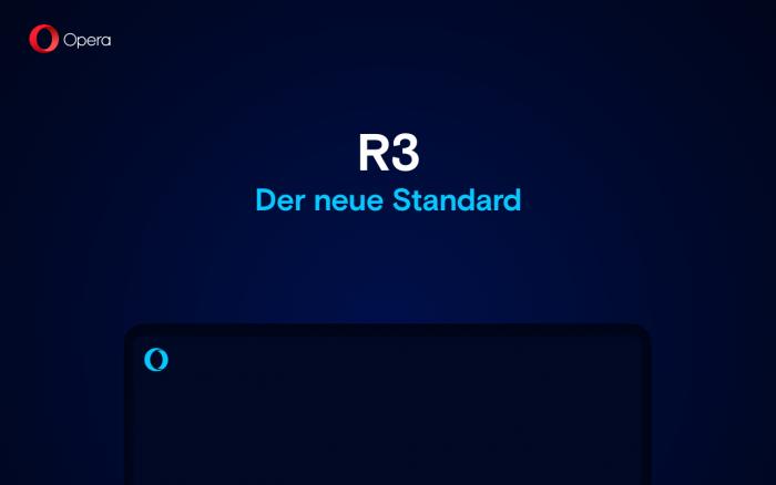 Opera R3 - der neue Browser-Standard