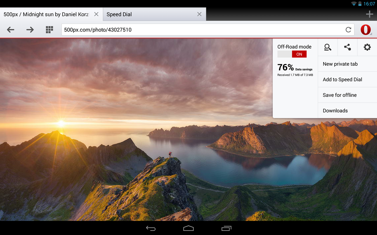 Opera 18 for your Android tablet - Blog | Opera News