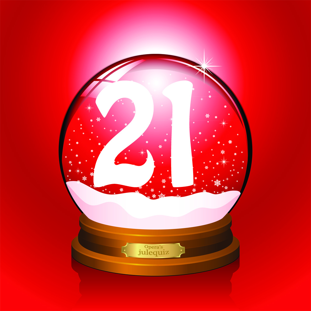 21 >> Opera S Julequiz December 21 Opera News