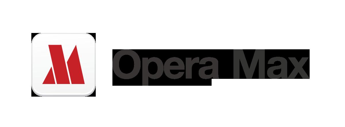 Opera Max horizontal
