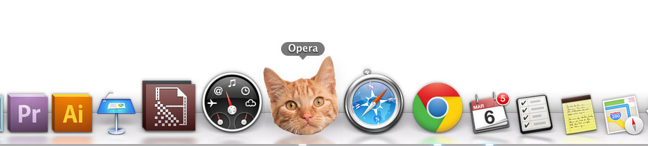 Cats by Opera for desktop