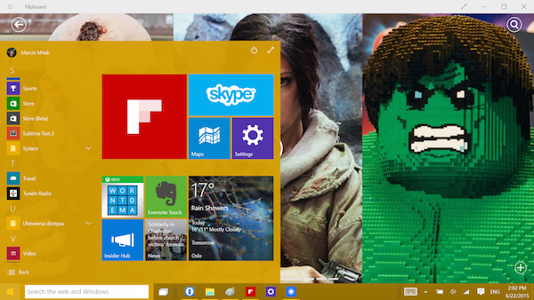 Windows 10 preview: The Start menu is back