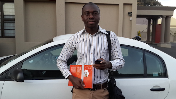 Online with Opera: Donald from Nigeria studies with Opera Mini