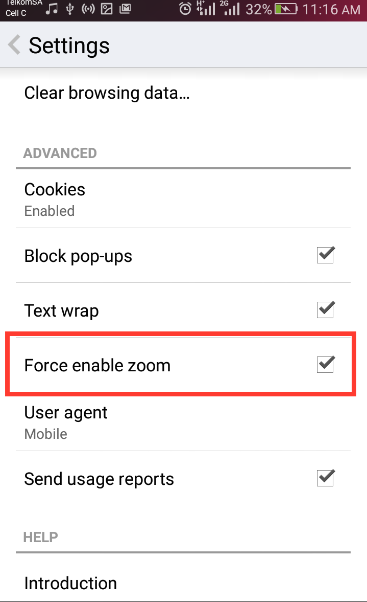 Force Zoom