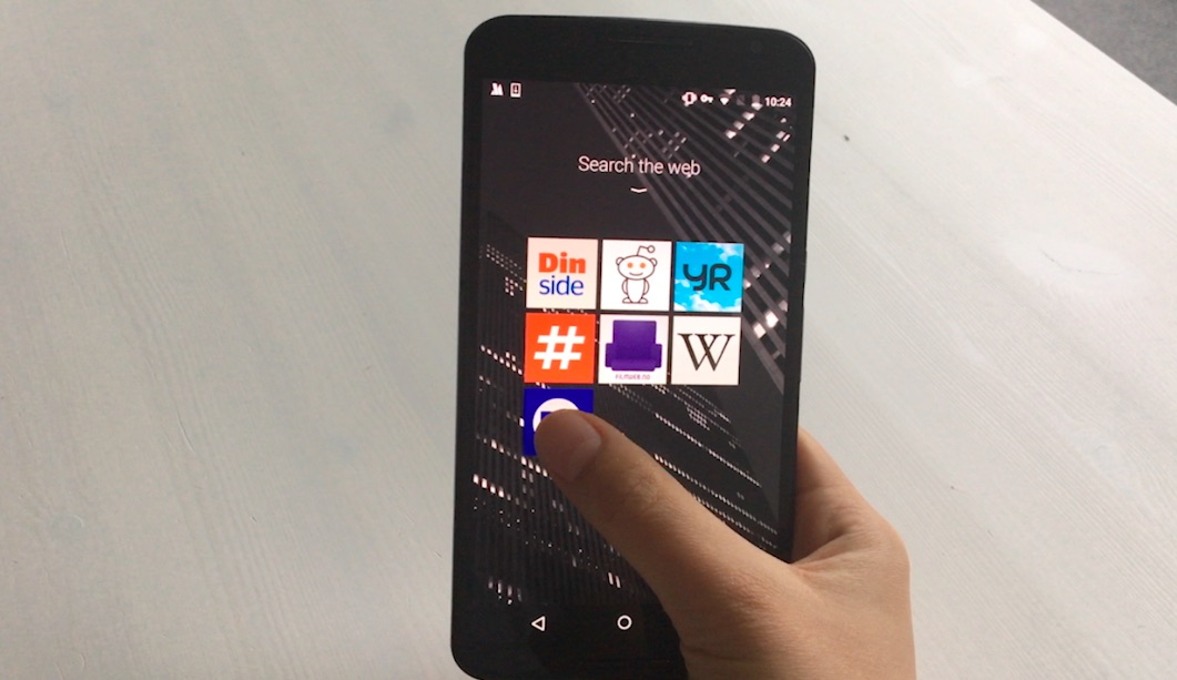 Thumbnail for 'New Android browser from Opera previews at MWC'