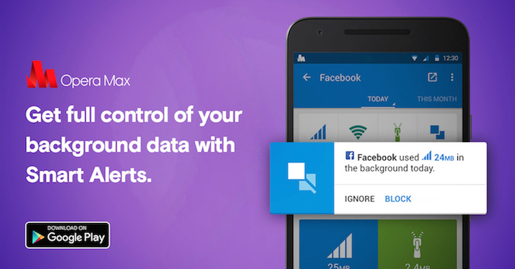 Check out the data-saving Android app Opera Max in action at