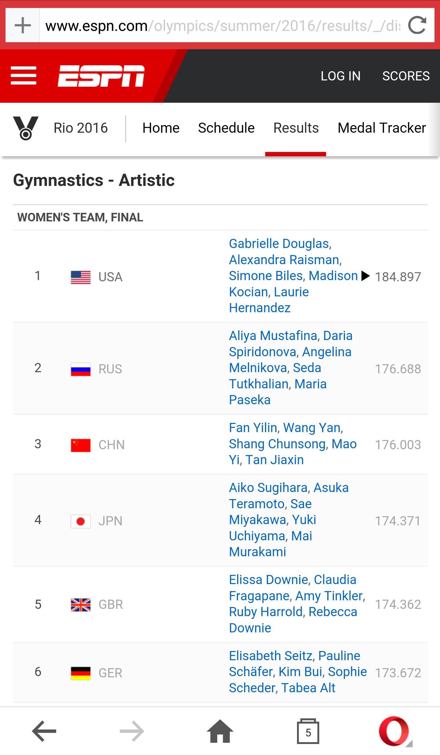 espn olympics rio lives news