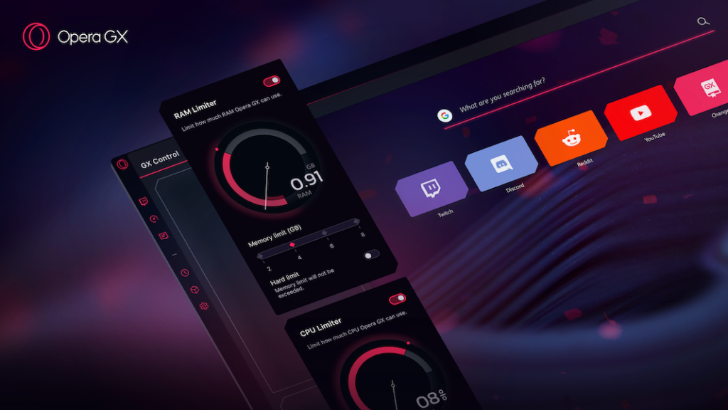 RAM limiter - Opera GX