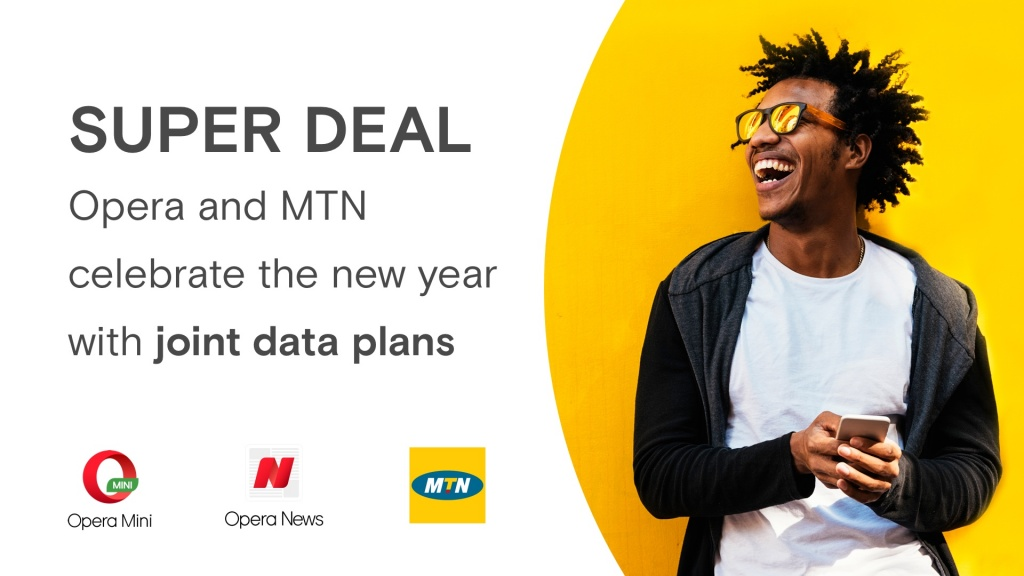 MTN and Opera launch unique data plans in Nigeria for Opera users who want more browsing at less cost 4