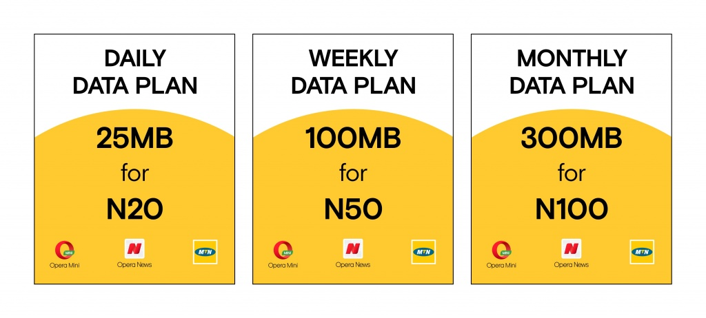 MTN and Opera launch unique data plans in Nigeria for Opera users who want more browsing at less cost 5