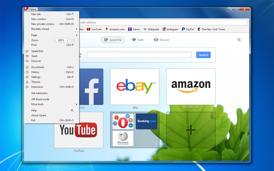 Opera 20 for desktop now available for download