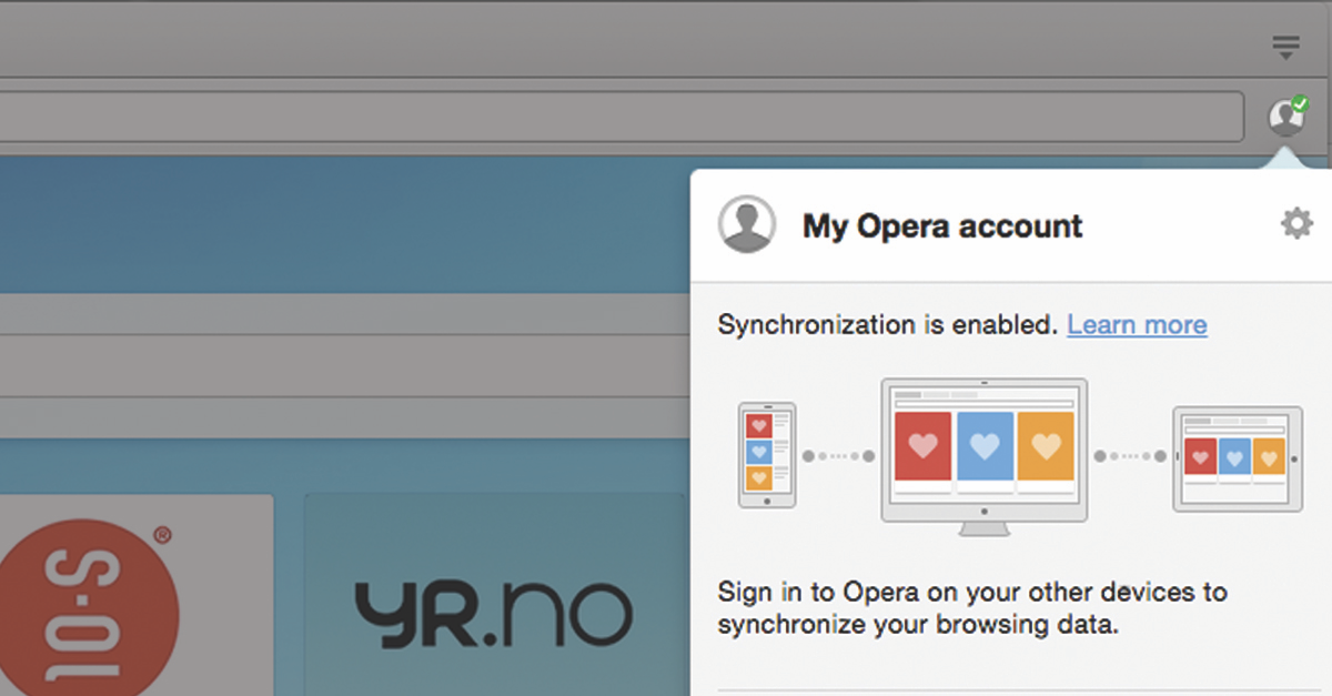 Sync Opera Mobile With Google Chrome For Mac