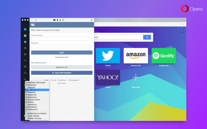 Opera Developer 49 update with VK and smoother video on macOS - Blog