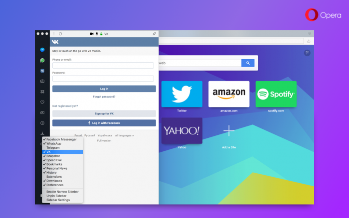 Opera 49 adds snapshot tool with editing tools - Blog