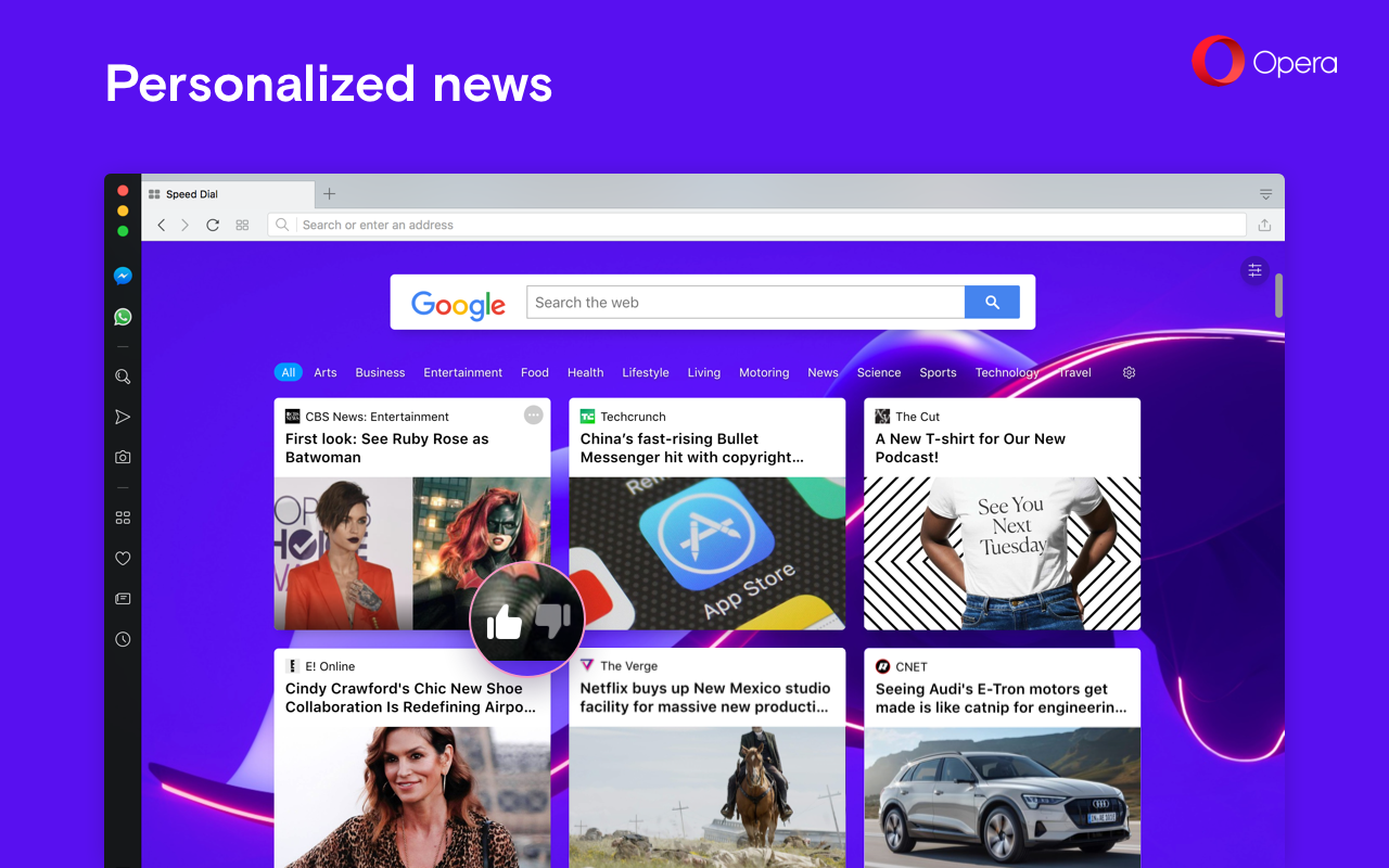 opera browser news