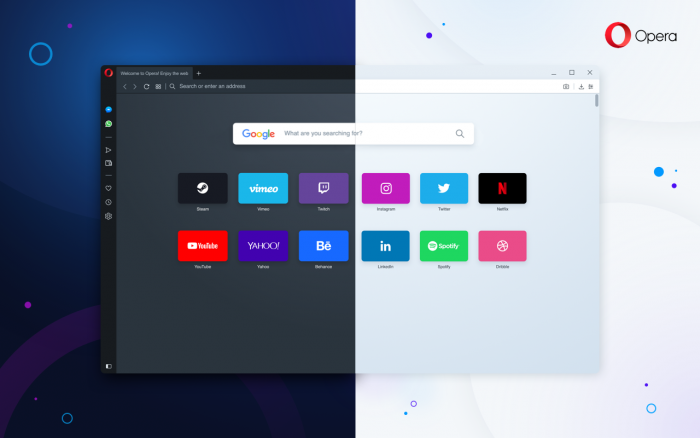 Opera introduces Reborn 3, the first desktop browser with